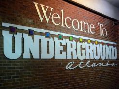 Photos of Underground Atlanta in Atlanta, Georgia on Tuesday, February 10, 2015. (Photo/Brenna Beech; brennabeech17@att.net)