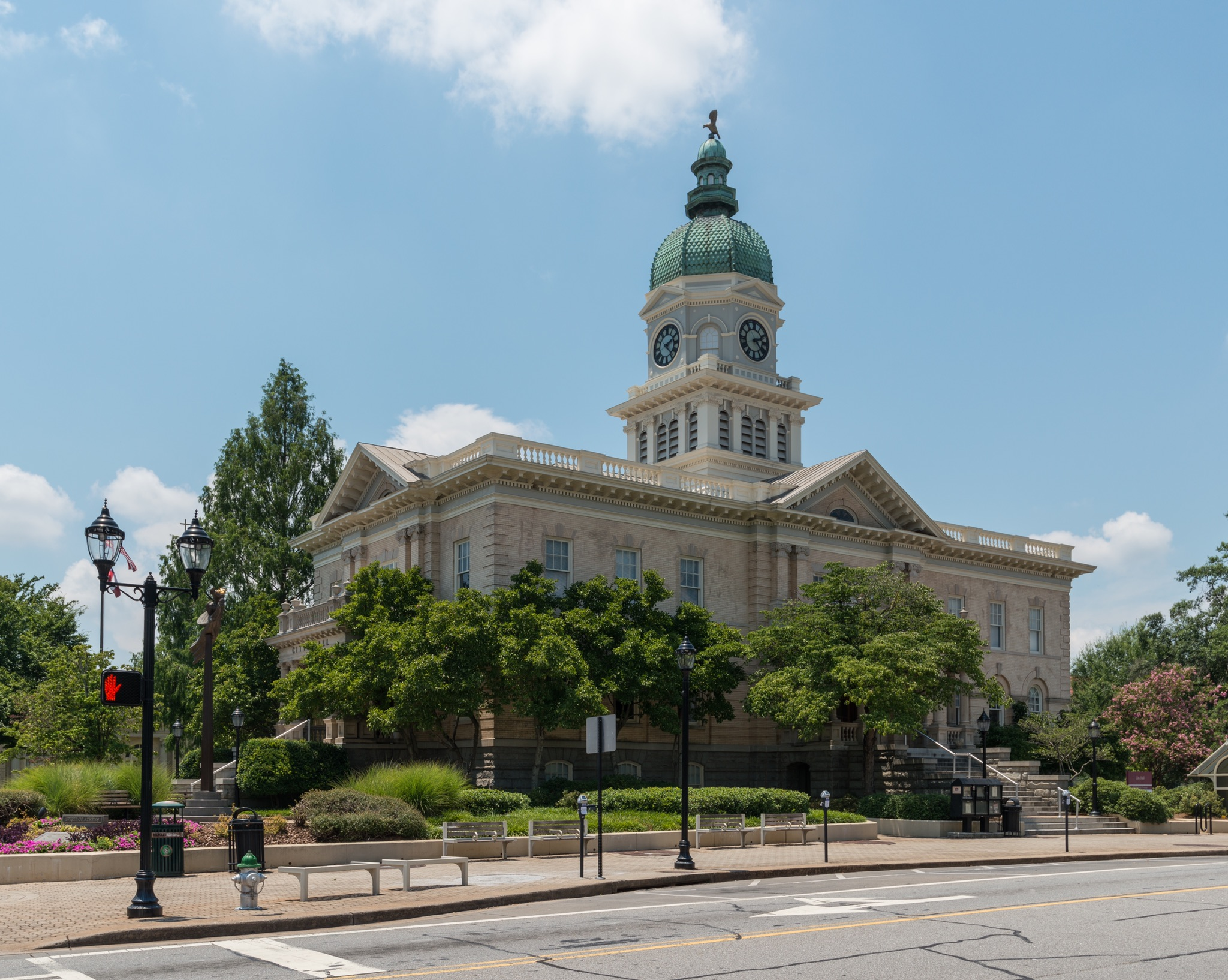 City Hall, Athens, Southeast view